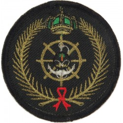 Royal Saudi Arabian Navy On Velcro  Embroidered Naval Branch, rank or miscellaneous insignia