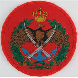 Jordan Navy   Woven Naval Branch, rank or miscellaneous insignia