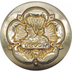 Royal Regiment of Gloucestershire & Hampshire 19.5mm - Gold Colour  Anodised Staybrite military uniform button