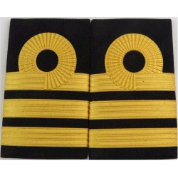 HM Customs & Excise: Assist Chief Preventive Officer 3 Rings: Wide Braid   Coast Guard, Customs & Excise insignia