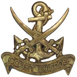 Pakistan Coast Guards Cap Badge  Brass Coast Guard, Customs & Excise insignia