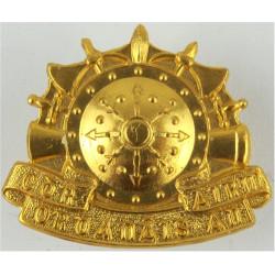 Irish Army Ordnance Corps - Cor Ordanais An Airm   Anodised Staybrite collar badge