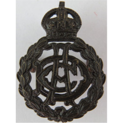 Army Dental Corps Pre-1948 with King's Crown. Bronze Officers' collar badge