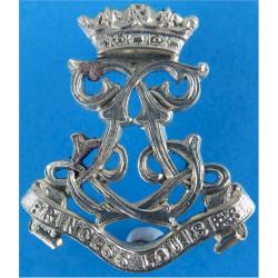 13th Bn London Regiment (Kensington) Post-1953  Silver-plated Officers' collar badge