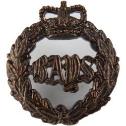 1st The Queen's Dragoon Guards  with Queen Elizabeth's Crown. Bronze Officers' collar badge