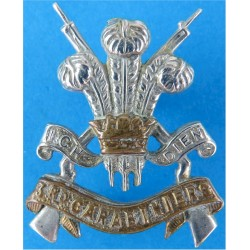 3rd Carabiniers (Prince Of Wales's Dragoon Guards) 28.5mm High  Bi-metallic Other Ranks' collar badge