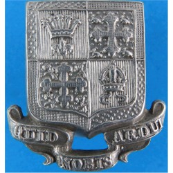 13th Bn London Regiment (Kensington) Pre-1953  White Metal Other Ranks' collar badge