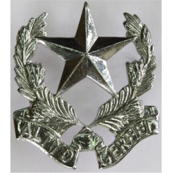 Regiment Botha - South Africa Altyd Gereed  Chrome-plated Other Ranks' collar badge