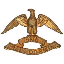 Regiment West Rand - South Africa FL  Brass Other Ranks' collar badge