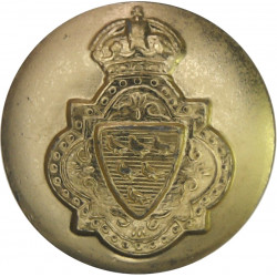 200 (Sussex Yeomanry) Medium Battery RA (V) 19.5mm - Gold Colour with King's Crown. Anodised Staybrite military uniform button