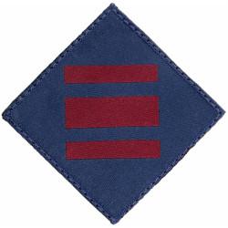 16 Air Assault Brigade - 23 Engineer Regiment RE TRF On Diamond  Woven Parachute DZ (Drop-Zone) Patch
