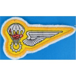 Brazil Parachute Rigger Half-Wing Wing To Right  Printed Parachute jump wings or badge