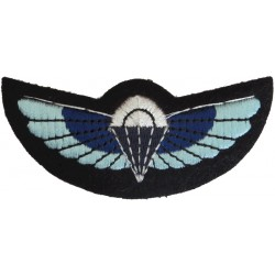 UK Special Air Service Parachute Wings   Embroidered Parachute jump wings or badge
