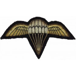 Bahrain Parachute Wings Down-Swept Wings  Bullion wire-embroidered Parachute jump wings or badge