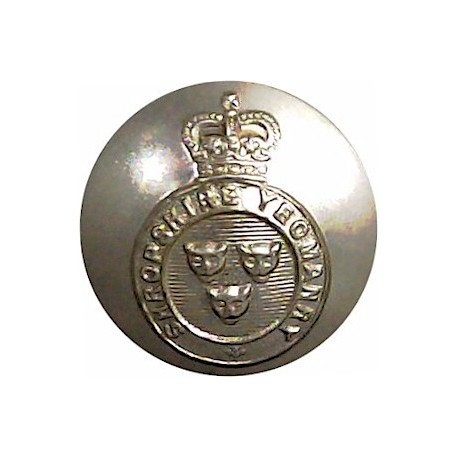 Army Department Fleet (Royal Corps Of Transport) 23.5mm - Gold Colour with Queen Elizabeth's Crown. Anodised Staybrite military