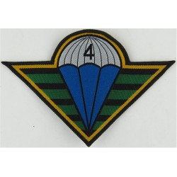 Czech Republic 4th Rapid Reaction Brigade   Woven Airborne or Special Forces insignia