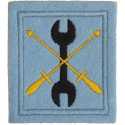 Bahrain Defence Force Engineers On Velcro  Embroidered Military Formation arm badge