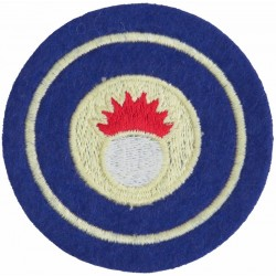 Bahrain Defence Force Ordnance On Velcro  Embroidered Military Formation arm badge