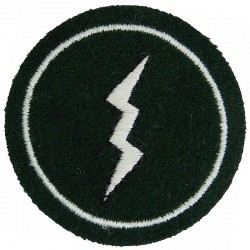 Bahrain Defence Force Signals On Velcro  Embroidered Military Formation arm badge