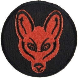 1 Reconnaissance Brigade (Brown Fox's Mask On Black Disc)  Embroidered Military Formation arm badge