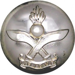 Queen's Gurkha Engineers 25mm - Gold Colour  Anodised Staybrite military uniform button
