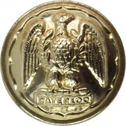 Royal Scots Greys (2nd Dragoons) 25.5mm - Gold Colour  Anodised Staybrite military uniform button