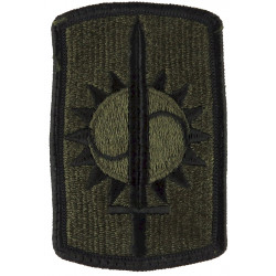 8th Military Police Brigade Subdued  Embroidered US Army shoulder sleeve insignia - SSI