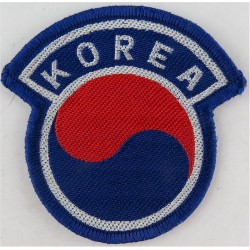 Arm-Badge - South Korea   Woven United Nations insignia