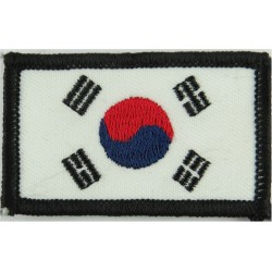 Arm-Flag - South Korea 60mm X 36mm  Embroidered United Nations insignia
