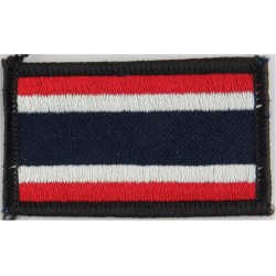 Arm-Flag - Thailand 60mm X 36mm  Embroidered United Nations insignia