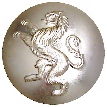 Belgian Army 25.5mm - Gold Colour  Anodised Staybrite military uniform button