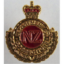 New Zealand Department Of Corrections Cap Badge Motif  Chrome and enamelled Lapel or sweet-heart badge