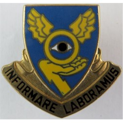 1st Military Intelligence Battalion Unit Crest  Enamel US Army distinctive insignia - DI