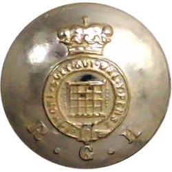 Lancashire Regiment (PWV) 1958-1970 19.5mm - Screw-Fit Anodised Staybrite military uniform button