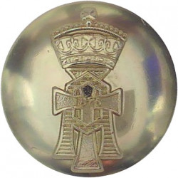 Yorkshire Regiment (14th/15th, 19th & 33rd/76th) 19.5mm - Gold Colour  Anodised Staybrite military uniform button