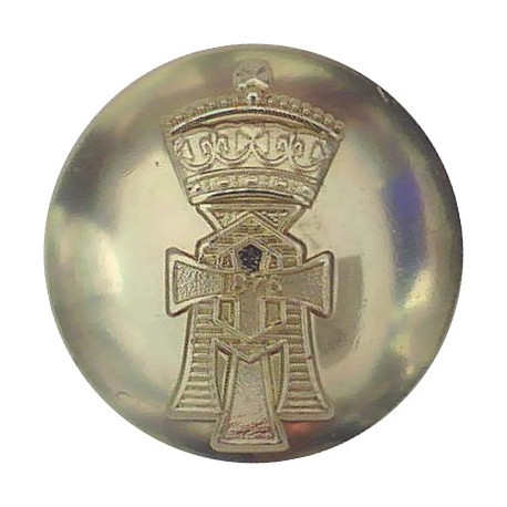 Duke Of Wellington's Regiment (West Riding) 19.5mm - Screw-Fit Anodised Staybrite military uniform button