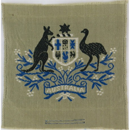 Warrant Officer Class 1 - Australian Army On Stone  Woven Warrant Officer rank badge