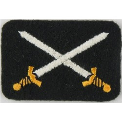 Base Chief Warrant Officer - Canadian Army Crossed Swords Only  Embroidered Warrant Officer rank badge