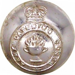 Royal Military College: Duntroon: Australia 19mm with Queen Elizabeth's Crown. Anodised Staybrite military uniform button