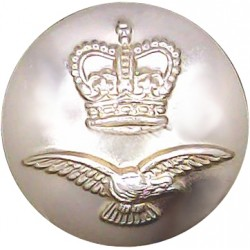 Northamptonshire Regiment 19.5mm - Gold Colour with Queen Elizabeth's Crown. Anodised Staybrite military uniform button