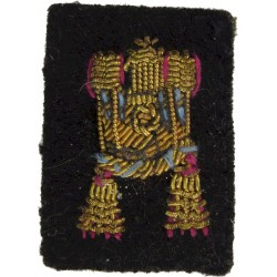 Brunei Armed Forces Major's Rank Badge   Bullion wire-embroidered Officer rank badge