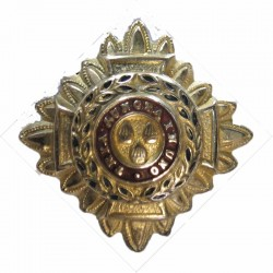 Officer's Rank Star (Pip) - 22mm Side   Gilt and enamel Officer rank badge