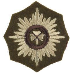 Officer's Rank Star (Pip) - Irish Guards On Khaki  Embroidered Officer rank badge