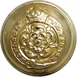 Oman Army 17.5mm - Gold Colour Anodised Staybrite military uniform button