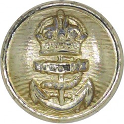 Oman Army - Pre-1986 13mm Silver Colour  Anodised Staybrite military uniform button