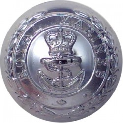 7th Duke Of Edinburgh's Own Gurkha Rifles - Black 19mm - With Cipher Plastic Military uniform button
