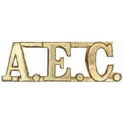AEC (Pakistan Army Education Corps)   Anodised Army Staybrite shoulder title