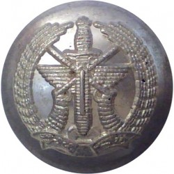 Royal Army Chaplains' Department (Christian) 19mm with Queen Elizabeth's Crown. Gilt Military uniform button