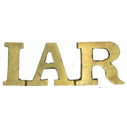 IAR (Indian Army Remounts) Indian Army  Brass Army metal shoulder title