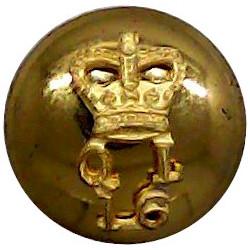 Royal Observer Corps 17mm White Metal Military uniform button